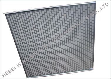 China XR ALS II Rock Shaker Screen For MI Swaco Shaker Hook Screen Grey Color supplier