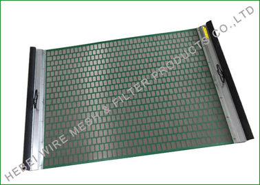 China FLC500 Shale Shaker Screen , Flat Screen for Low Cost , Fast Screen Changing supplier
