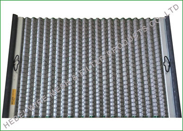 China FLC500 Series Pinnacle Screen , Oil Vibrating Sieving Mesh 1050 X 695mm Size supplier