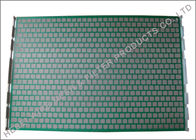 China 20 - 325 Mesh Hookstrip Flat Screen Triple Layers Steel Perforated Panel factory