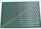 China Steel Frame VSM 300 Shaker Screens , Diamond Screen Panel Brandt Shaker Screens factory