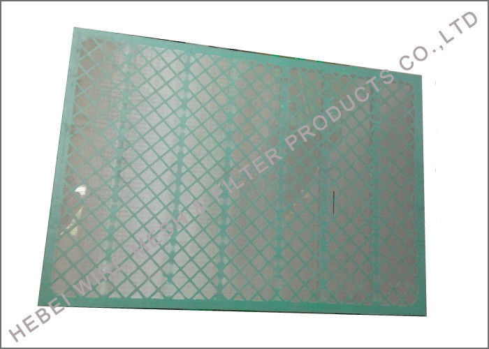 SS304 Shale Shaker Parts For FSI Mud Cleaner Tensile Bolting Wire Cloth