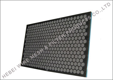China Professional Rock Shaker Screen , Hookstrip Oil Vibrating Sieving Mesh Screen factory