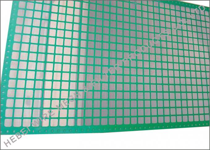 Square Opening Fine Mesh Rock Shaker Screen , FSI Black Thunder Shale Shaker Screen